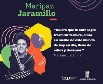 MARIPAZ JARAMILLO, EXPRESIONISMO A TODO COLOR